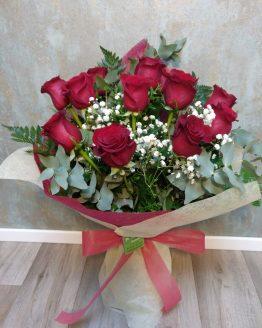 Ramo rosas rojas